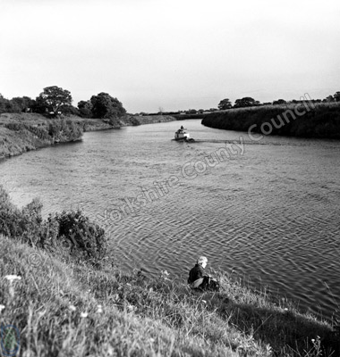 Fishing, River Ouse, Linton